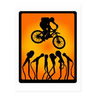 Bike in Zion Postcard