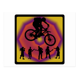 Bike New Plan Postcard