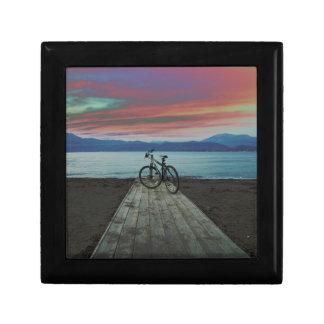 Bike On Pier | Greece Gift Box