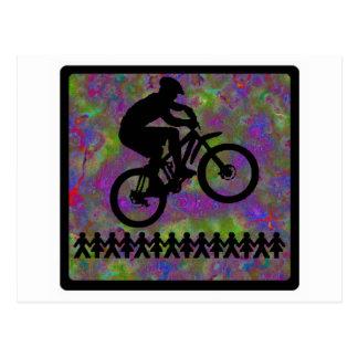 Bike Pure Evening Postcard