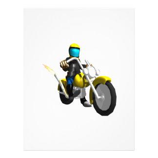 Biker 2 full color flyer