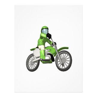 Biker 3 personalized flyer