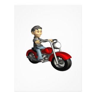 Biker 9 custom flyer