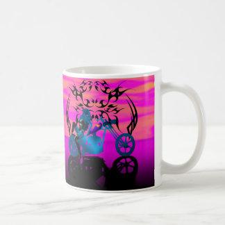 Biker Chic - Yellow Florescence Mugs