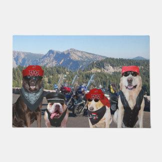 Biker Dogs Doormat