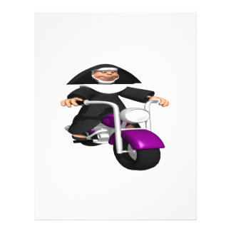 Biker Nun Custom Flyer
