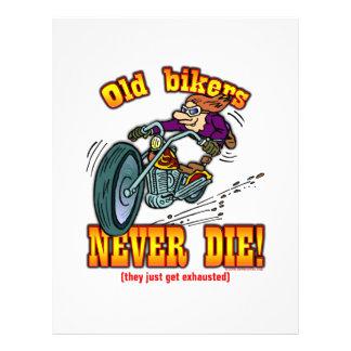 Bikers 21.5 Cm X 28 Cm Flyer