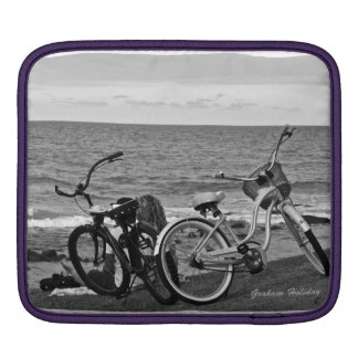Bikes at Burleigh iPad sleeve