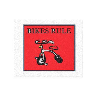 Bikes Rule! Canvas Print