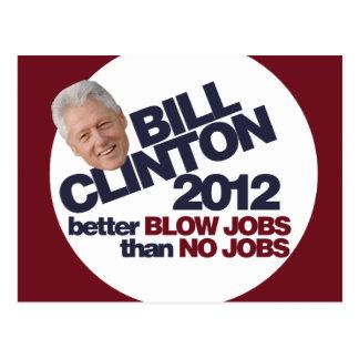 Bill Clinton 2012 Postcard