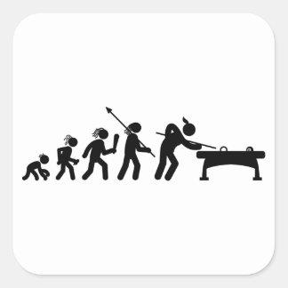 Billiard / Pool Square Sticker