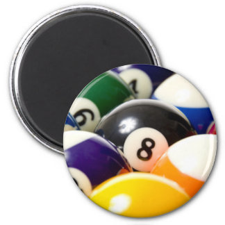 BIlliards 6 Cm Round Magnet