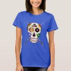 Billiard's Sugar Skull (coloured) T-Shirt