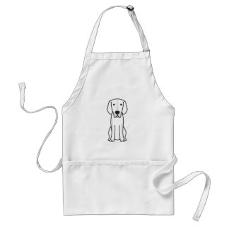 Billy Dog Cartoon Standard Apron