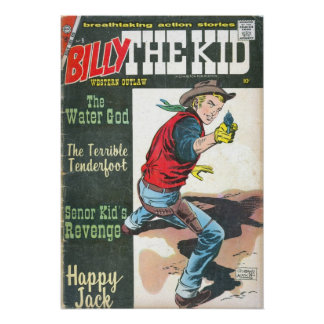 Billy the Kid Print