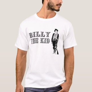 Billy the kid T-Shirt Western Far West
