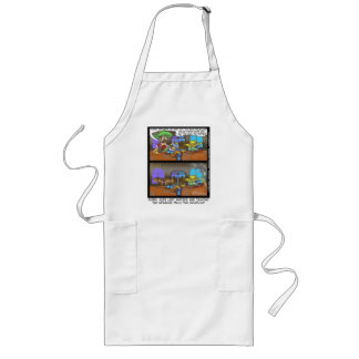Billy The Molecule Funny Gifts Tees Cards Etc Long Apron