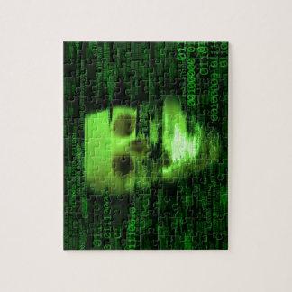Binary Skull Puzzle
