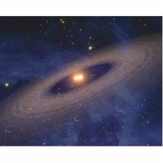 Binary Star Solar System Space Art Photo Cutouts