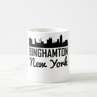 Binghamton New York Skyline Coffee Mug