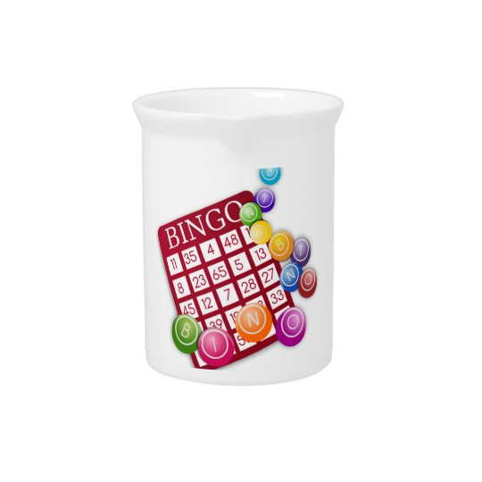 Bingo Game Beverage Pitchers