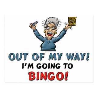 Bingo Lovers Postcard