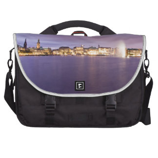 Binnenalster in Violet Laptop Bags