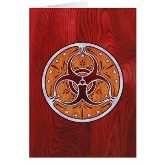 Bio Hazard Inlay II Card