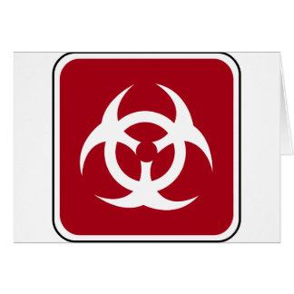 Bio Road Sign Card