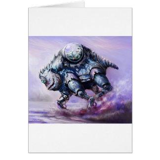Biobot Greeting Card