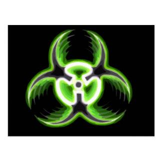 Biohazard 08 postcard