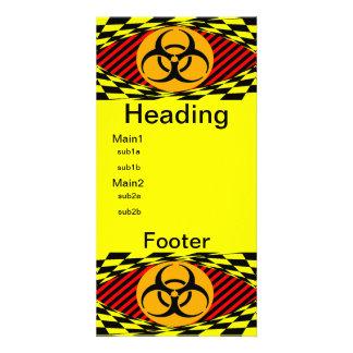 Biohazard Design by Kenneth Yoncich Card