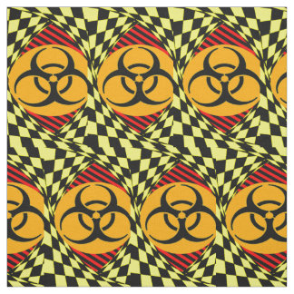 Biohazard Design Fabric