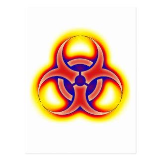 Biohazard Glow Postcard