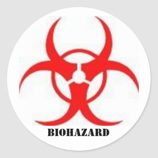 biohazard sign stickers