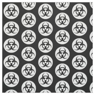 Biohazard Symbol Fabric