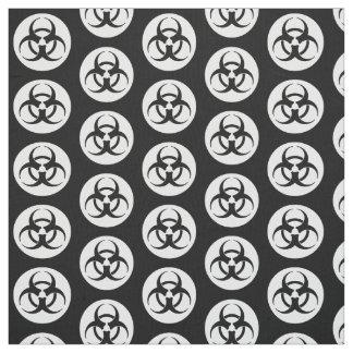 Biohazard Symbol Fabric
