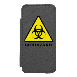 Biohazard Symbol iPhone Case Incipio Watson™ iPhone 5 Wallet Case