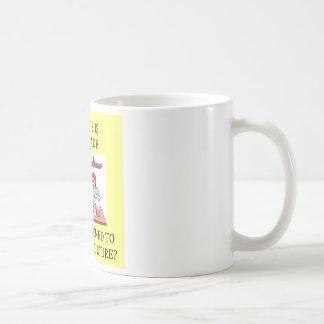 biology experiment joke basic white mug