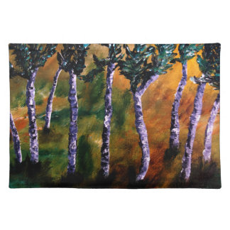Birch Forest Placemats