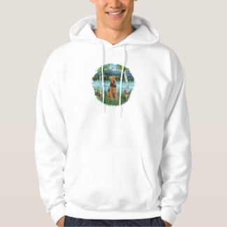 Birches - Airedale #1 Hoodie