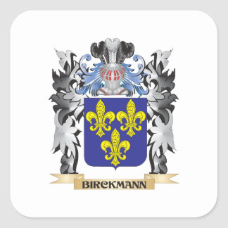 Birckmann Coat of Arms - Family Crest Square Sticker