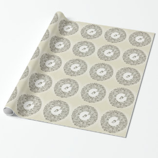 Bird business wrapping paper