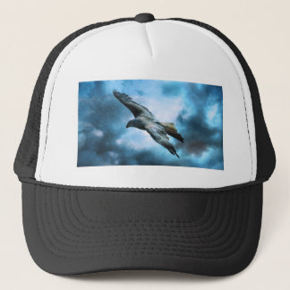 Bird Flying Trucker Hat