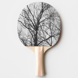 Bird in a tree ping pong paddle