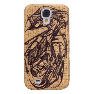 Bird : Inky Writes Pokey 1909 Galaxy S4 Case