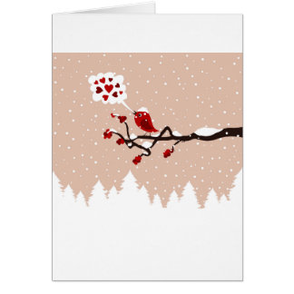 Bird on a tree9 card