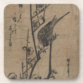 Bird on Plum Branch Beverage Coaster