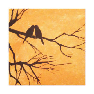 Bird Painting Canvas Print