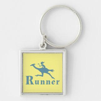 Bird Runner Rider Key Ring
